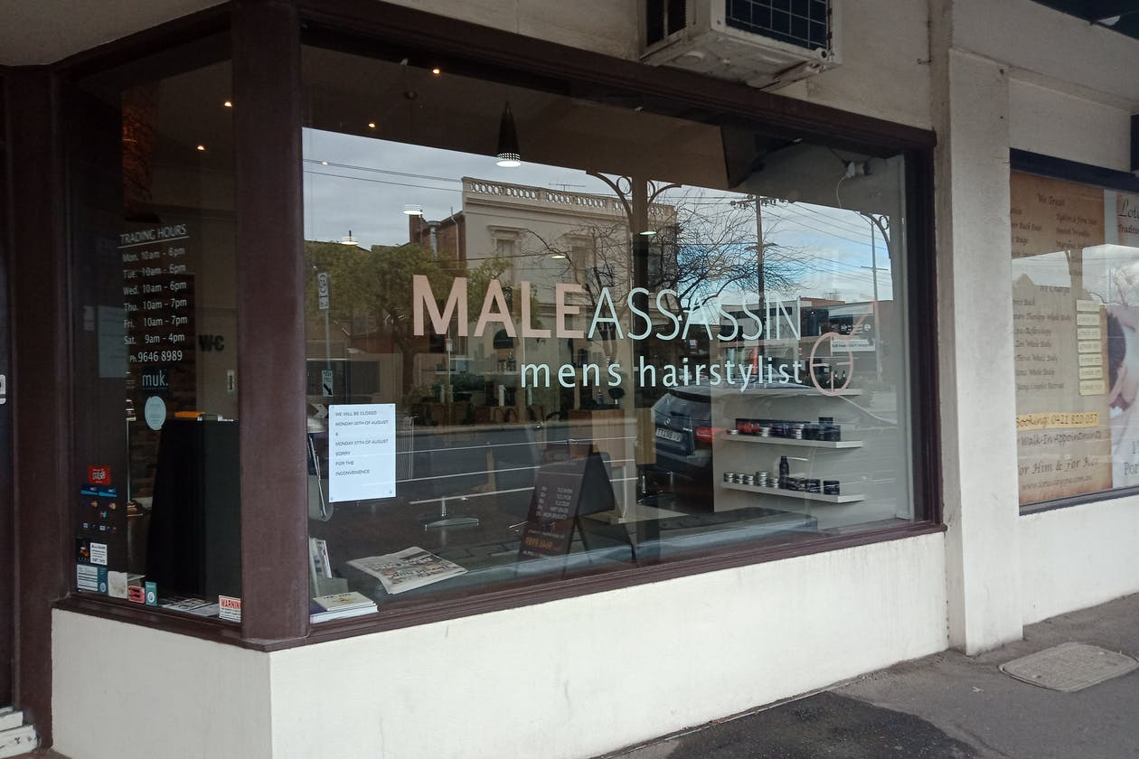Male Assassin Men's Hairstylist