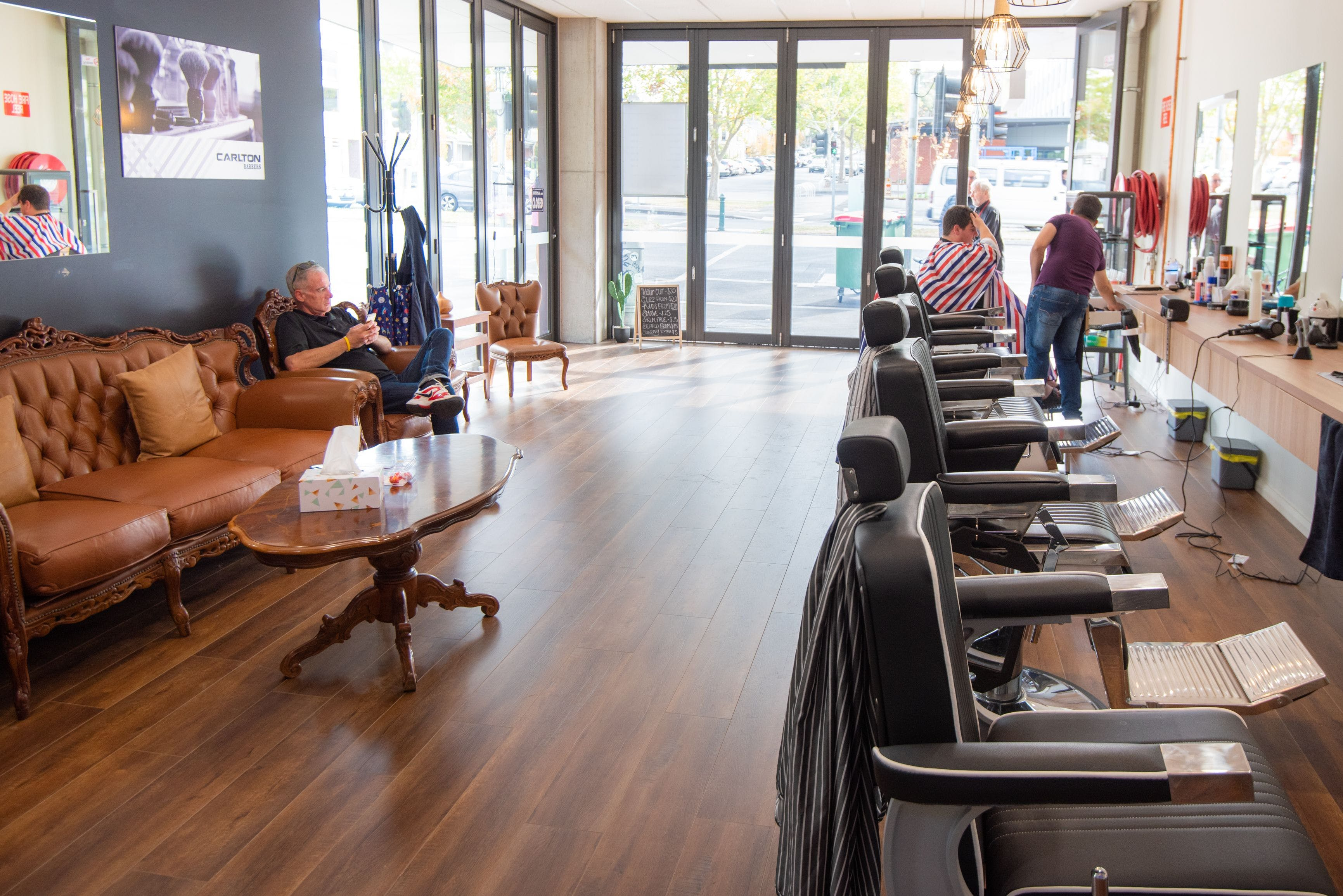 Carlton Barbers - Carlton  Haircut and Hairdressing  Barbers
