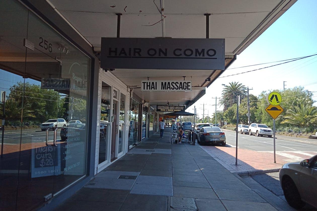 Hair on Como