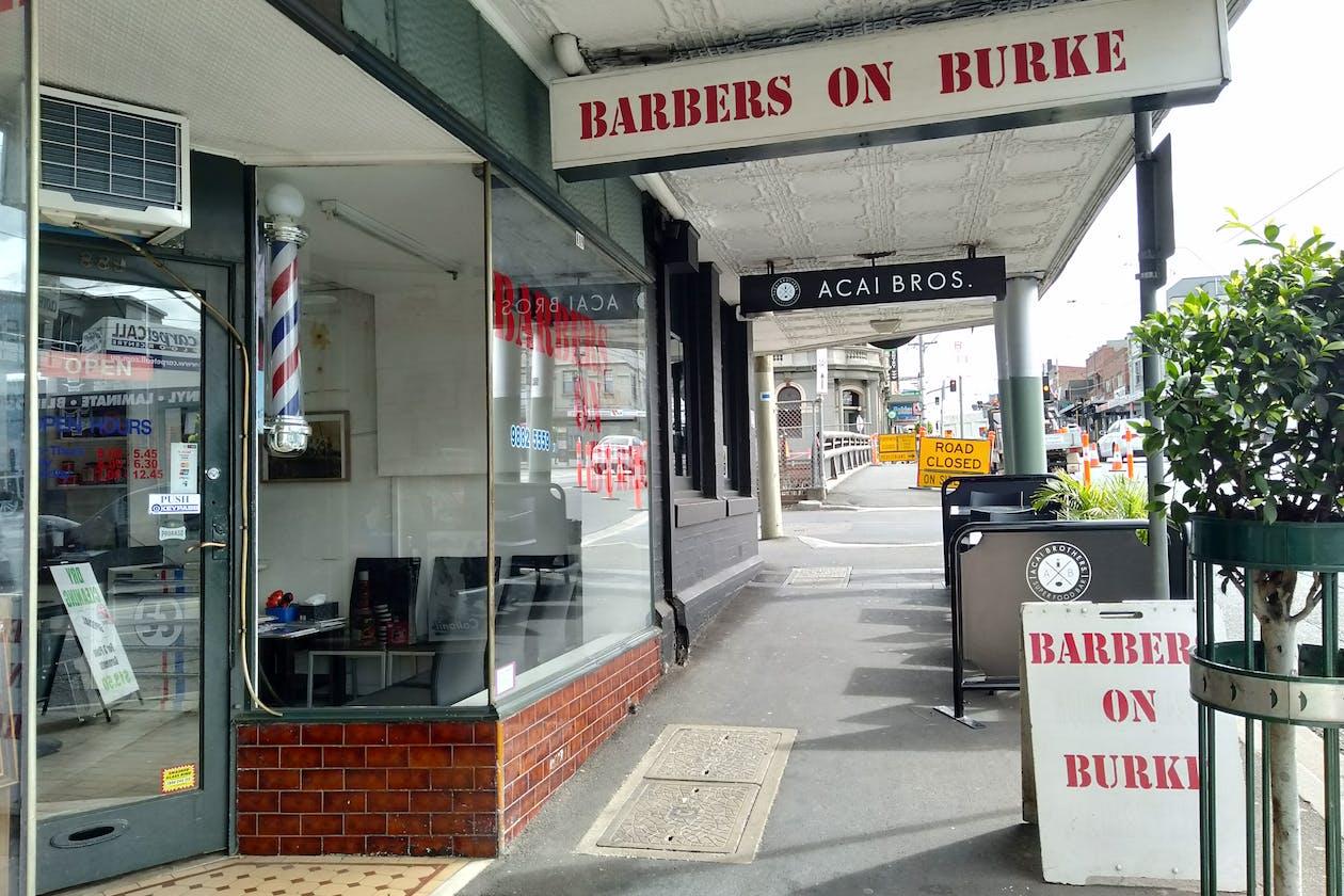 Barbers On Burke