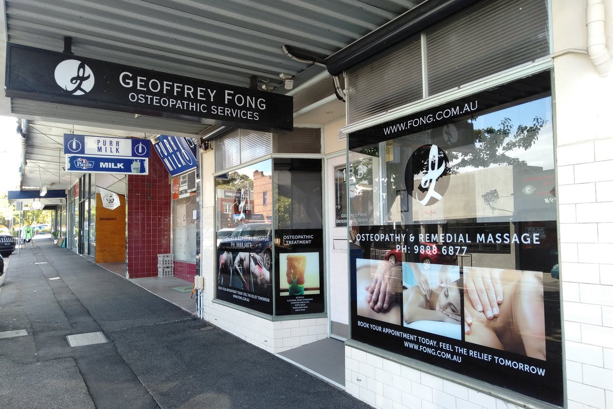 Geoffrey Fong Osteopathic Services