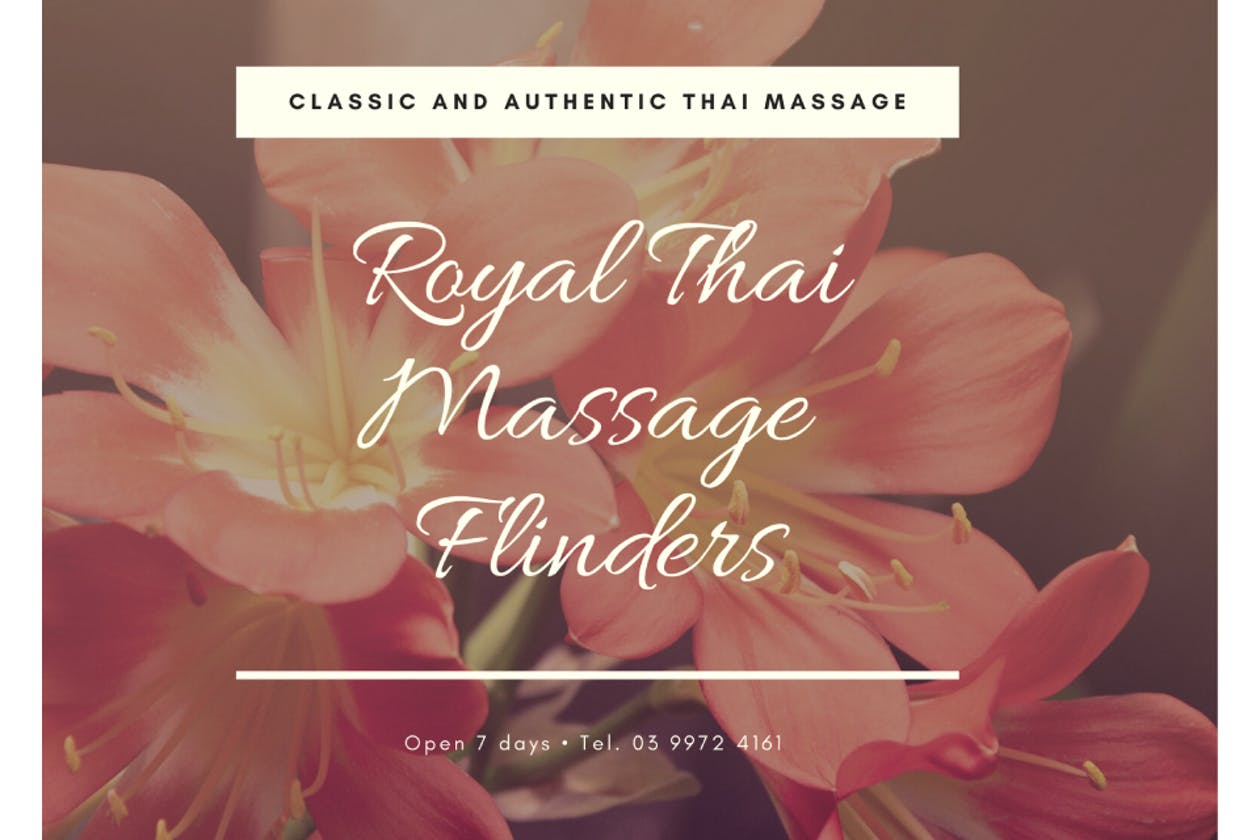 Royal Thai Massage Flinders