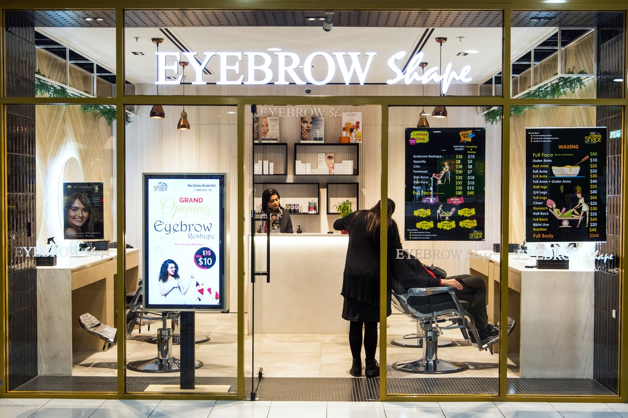 Eyebrow Shape Threading & Waxing - Rundle Mall Myer image 14