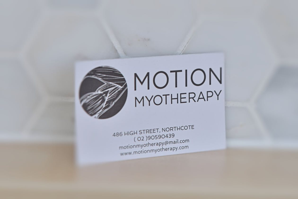 Motion Myotherapy Northcote Remedial Massage Melbourne image 7