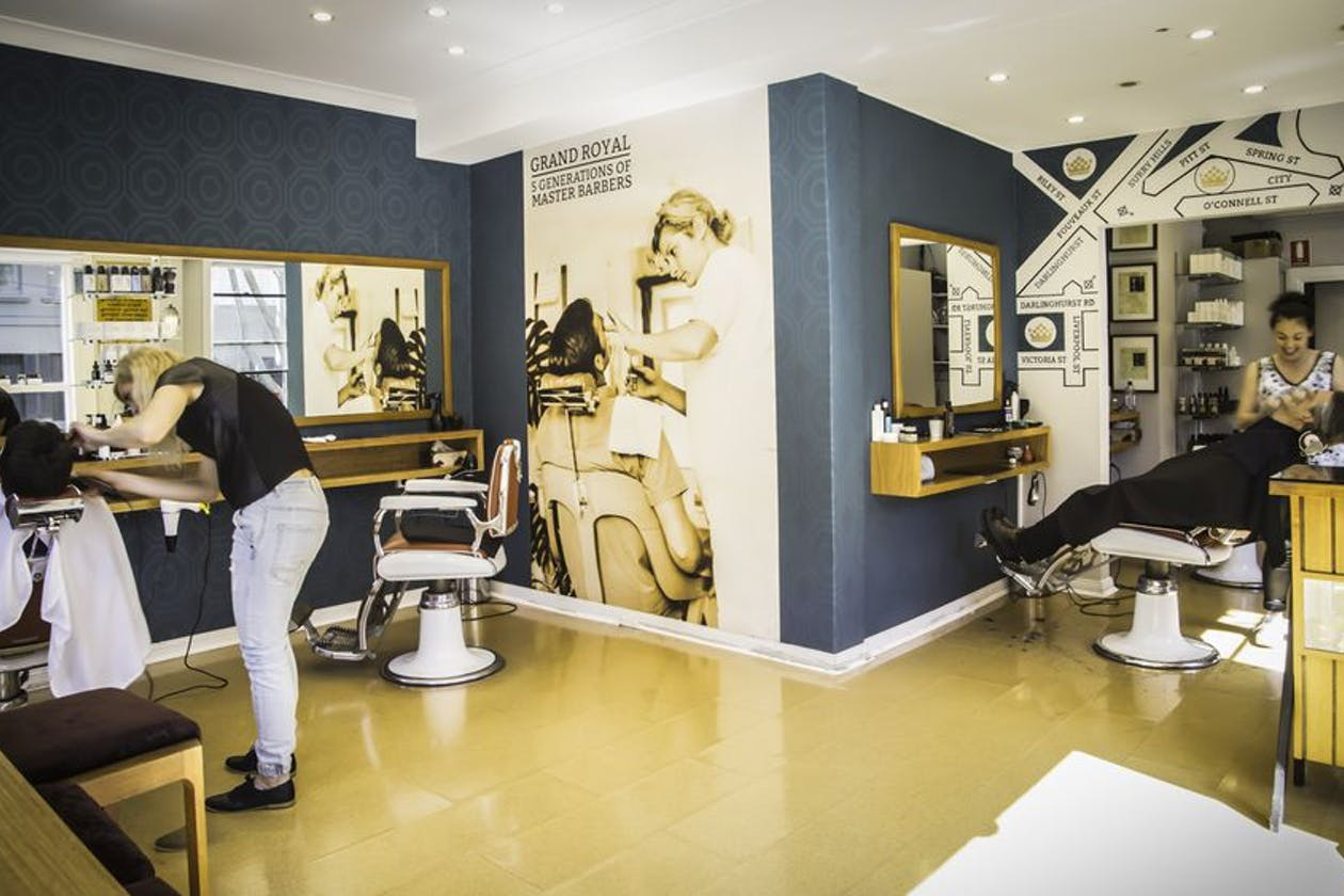 Grand Royal Barbers Surry Hills
