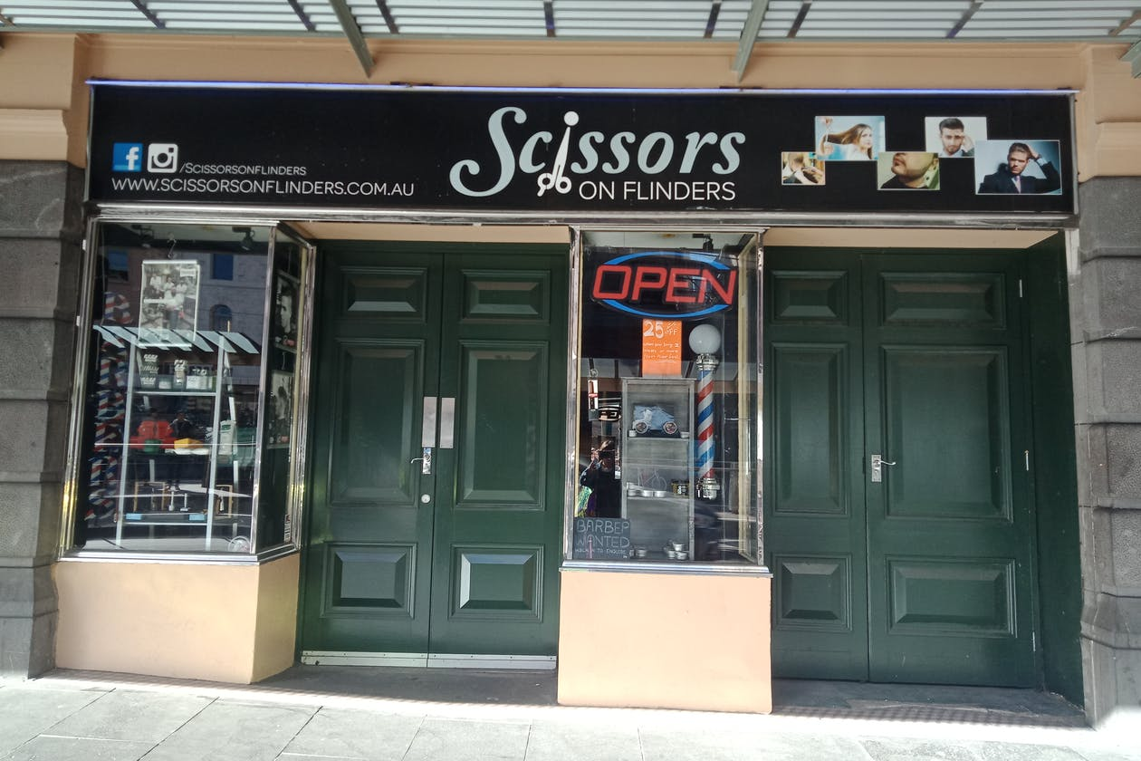 Scissors on Flinders