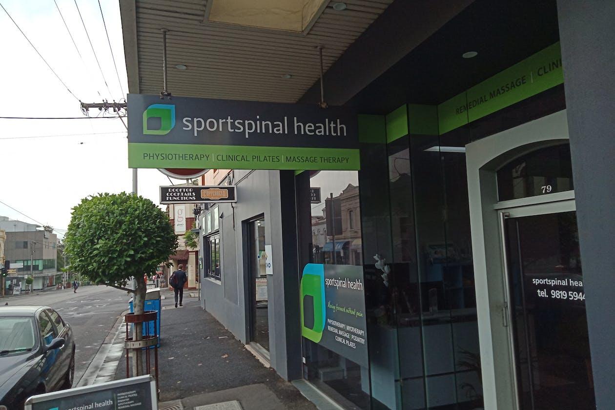 Sportspinal Health - Hawthorn