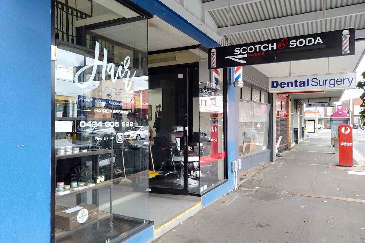 Scotch and Soda Barbers - Murrumbeena