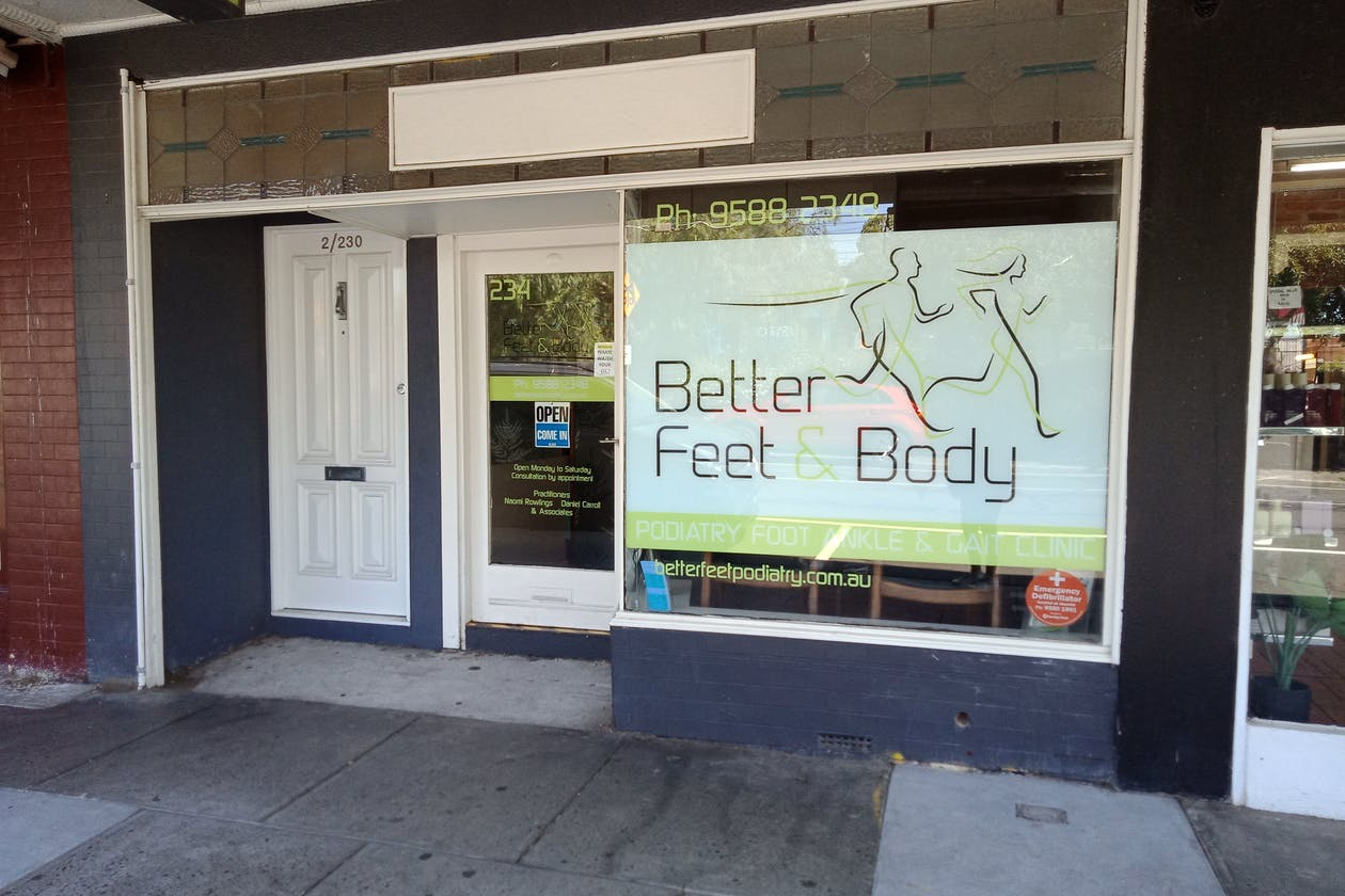 Better Feet and Body image 3