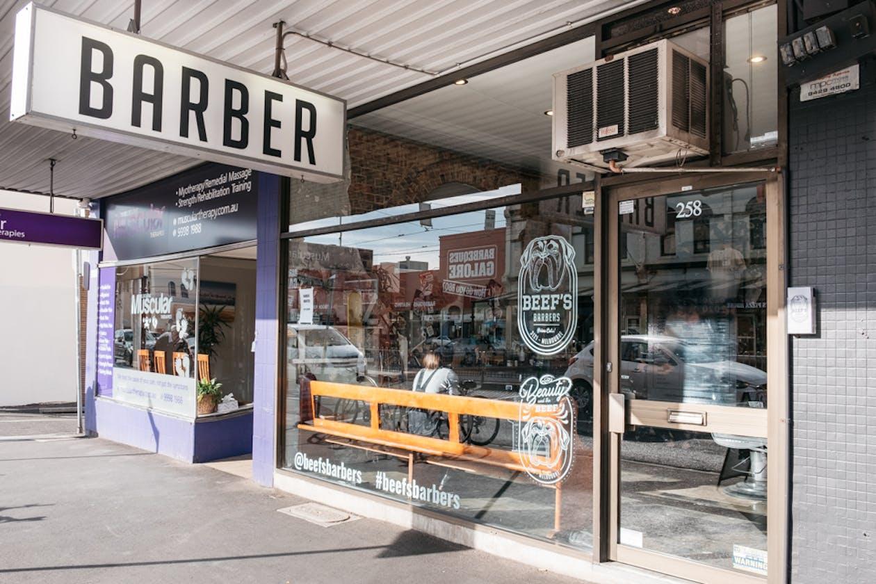 Beef's Barbers