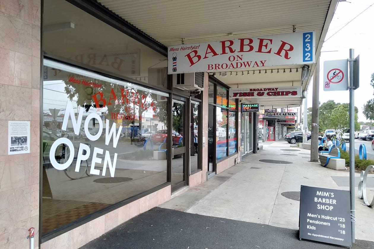 Mim's Barber Shop
