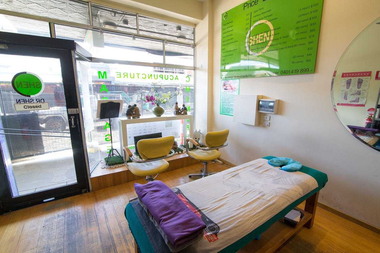 Shen Chinese Massage and Acupuncture - St Kilda