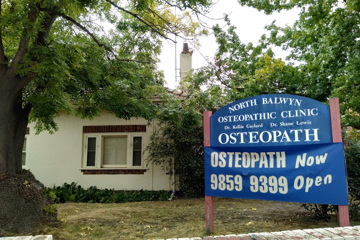North Balwyn Osteopathic Clinic
