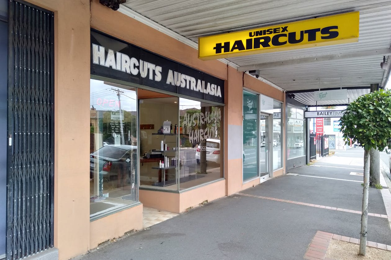 Australasia Haircuts