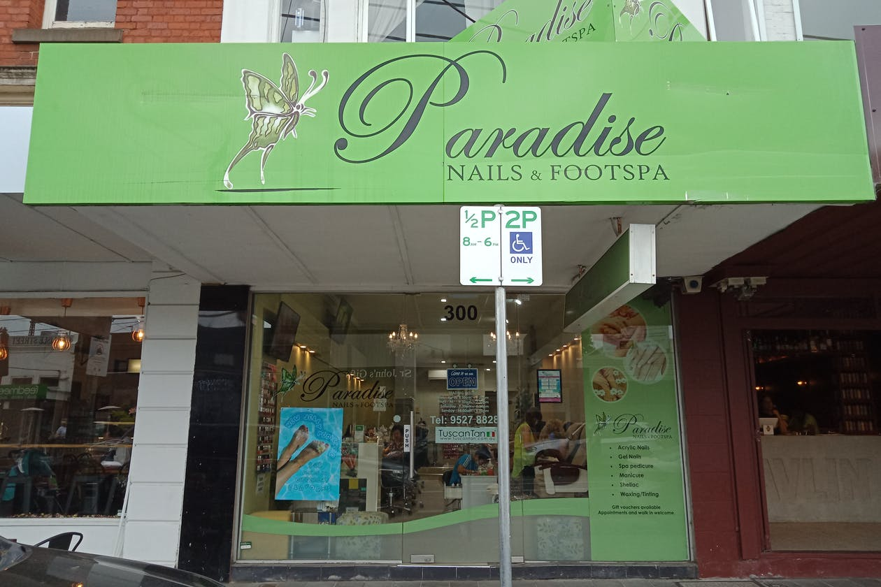Paradise Nails & Footspa
