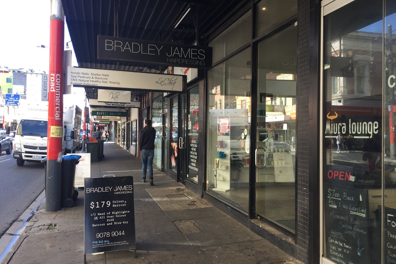 Bradley James Hairdressing