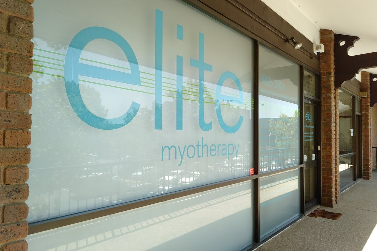 Elite Myotherapy - Toorak