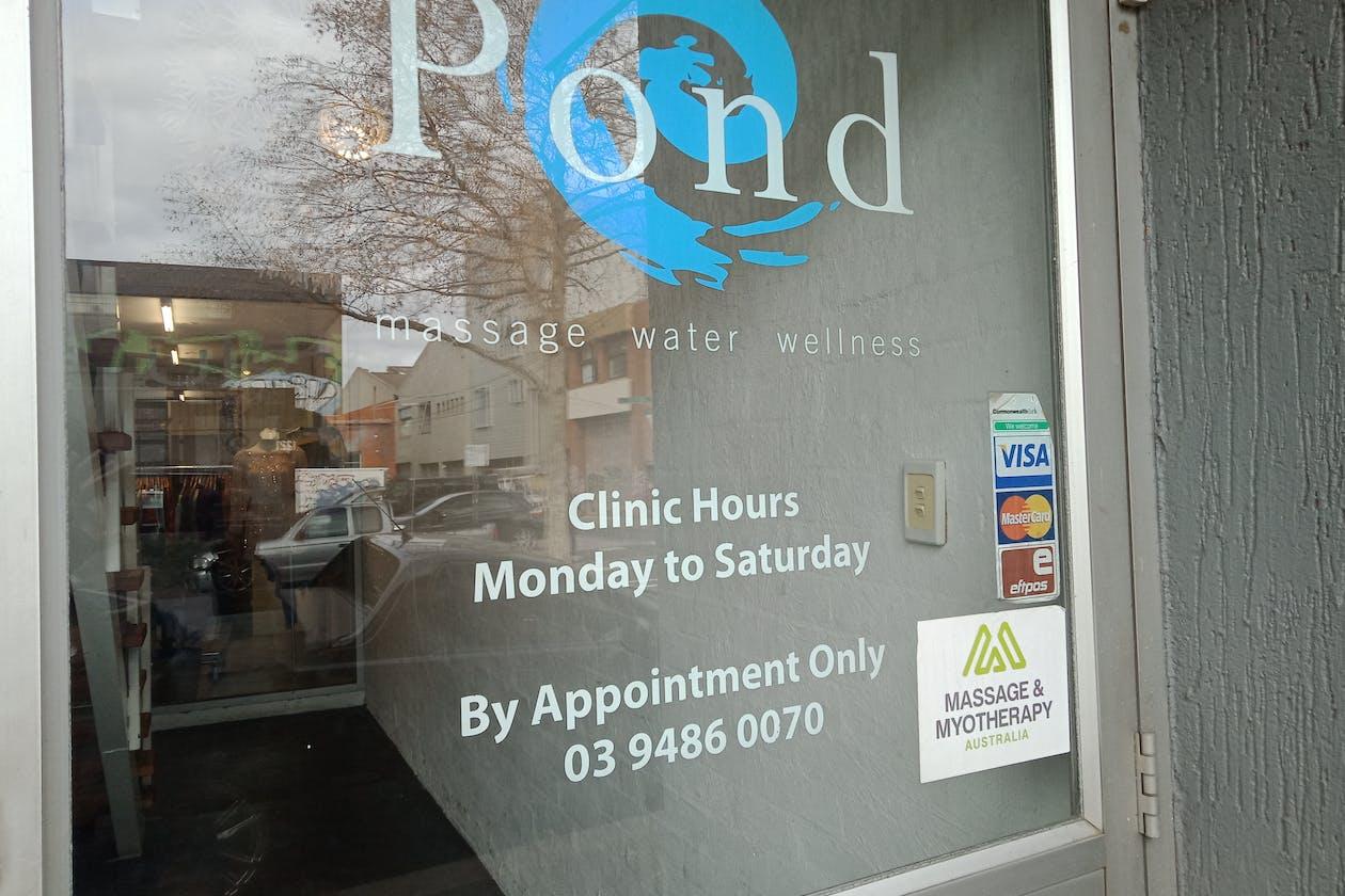 Pond Massage Water Wellness