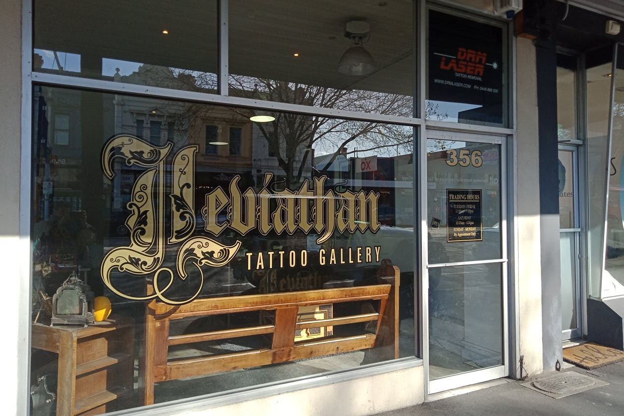 Leviathan Tattoo Gallery